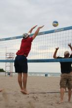 Annual Volleyball Tournament fundraiser for Camping 4 Kids Program